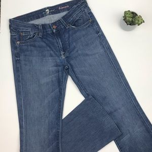 """7 FOR ALL MANKIND """"Kimmie"""" Bootcut Jeans 28/30"""